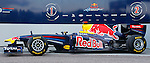 Red Bull's RB7 car during Formula One official tests. February 01, 2011. (Vicente Llopis/Alfaqui)