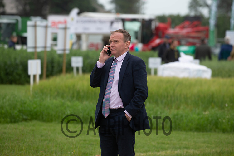 30-6-2021 The Rt Hon Michael Gove MP Secretary of State for Environment attending the 2021 Cereals event in Lincolnshire<br /> ©Tim Scrivener Photographer 07850 303986<br />      ....Covering Agriculture In The UK....