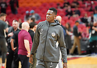 Isaac Bonga (G/F, Washington Wizards, #17) - 22.01.2020: Miami Heat vs. Washington Wizards, American Airlines Arena