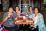 Kate Cashman from Ballyheigue celebrating her birthday  with her three daughters in Benners on Saturday, seated l to r: Kate, Cathy, Jennifer and Tracy Cashman.