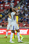 Chelsea Midfielder Victor Moses reacts during the International Champions Cup 2017 match between FC Internazionale and Chelsea FC on July 29, 2017 in Singapore. Photo by Marcio Rodrigo Machado / Power Sport Images