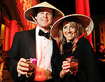 George and Emily Jackson at the Mardi Gras Ball at the Tremont House in Galveston Saturday Feb. 13,2010.(Dave Rossman Photo)