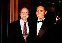 Serge Losique<br /> et Zhang Ymou au FFM 1995