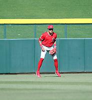 Jordyn Adams - Los Angeles Angels 2020 spring training (Bill Mitchell)