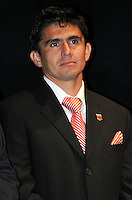 DC United forward Jaime Moreno.   At the 6th Annual DC United Awards Presentation ,at the Atlas Performing Arts Center in Washington DC ,Wednesday October 27, 2009.