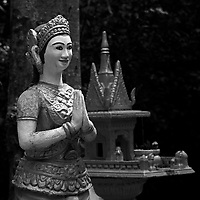 Phnom Sambok Pagoda near<br /> ,Kratie, Cambodia,<br /> October 2020.