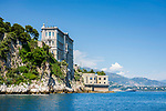Fuerstentum Monaco, an der Côte d'Azur, Stadtteil Monaco-Ville: Ozeanographisches Museum Monaco | Principality of Monaco, on the French Riviera (Côte d'Azur), district Monaco-Ville: Oceanographic Museum