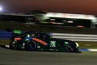 #75 SUNENERGY1(USA) MERCEDES-AMG GT3 GTD - KENNY HABUL (AUS) MARO ENGEL (DEU) MIKAEL GRENIER (CAN)