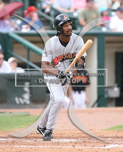 2007 Buffalo Bisons.Class-AAA affiliate of the Cleveland Indians.International League.Photo By:  Mike Janes