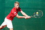Spain's Alejandro Davidovich Fukina during Junior Davis Cup 2015 match. September  30, 2015.(ALTERPHOTOS/Acero)