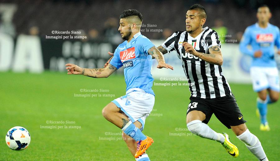 - NAPOLI 30 MAR  -  Stadio San Paolo    Napoli - Juventus<br />  insigne