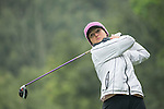 Celine Herbin of France tees off at the 14th hole during Round 3 of the World Ladies Championship 2016 on 12 March 2016 at Mission Hills Olazabal Golf Course in Dongguan, China. Photo by Victor Fraile / Power Sport Images