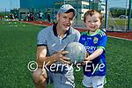 Enjoying the morning at John Mitchels GAA underage academy on Sunday, l to r: Jack and Kieran Moynihan.