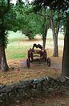Combine harvester to harvest grain crops, Colonial Williamsburg Virginia, Fine Art Photography by Ron Bennett, Fine Art, Fine Art photography, Art Photography, Copyright RonBennettPhotography.com ©