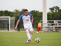 Lakewood Ranch, FL - Sunday July 23, 2017: David Garza during an international friendly match between the paralympic national teams of the United States (USA) and Canada (CAN) at Premier Sports Campus at Lakewood Ranch.