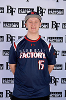 Cameron Seymour (15) of Thornton Academy in Saco, Maine during the Baseball Factory All-America Pre-Season Tournament, powered by Under Armour, on January 12, 2018 at Sloan Park Complex in Mesa, Arizona.  (Mike Janes/Four Seam Images)