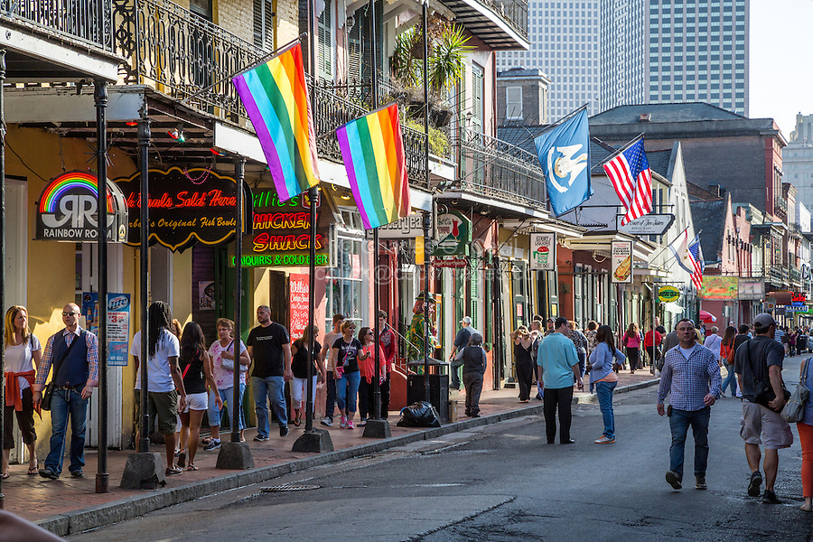 French Quarter, New Orleans, Louisiana.