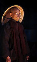 Thich Nhat Hanh, a Vietnamese Buddhist monk, teacher, author, peace activist and 1967 Nobel Peace Prize nominee, living in exile at his home in Plum Village, Bergerac, France.<br />