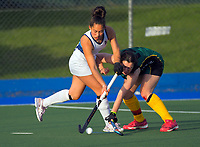 Action from the 2020 Lower North Island Girls Hockey Premiership match between St Matthew's Collegiate School and Napier Girls School at Fitzherbert Park Twin Turfs in Palmerston North, New Zealand on Tuesday, 1 September 2020. Photo: Dave Lintott / lintottphoto.co.nz