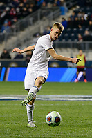 Chester, PA - Friday December 08, 2017: Nate Shultz The Stanford Cardinal defeated the Akron Zips 2-0 during an NCAA Men's College Cup semifinal match at Talen Energy Stadium.