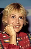 FILE PHOTO -   L'actrice Francaise MIOU MIOU au Festival des Films du  Monde 1988<br /> <br /> PHOTO :   Agence quebec Presse