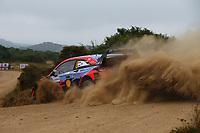 6th June 2021; Olbia, Sardinia, Italy; WRC Rally of Sardegna, final day; Stages SS17-SS20;  Ott Tanak-Hyundai i20 WRC