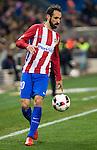 "Atletico de Madrid's Juanfran Torres  during the match of ""Copa del Rey"" between Atletico de Madrid and Gijuelo CF at Vicente Calderon Stadium in Madrid, Spain. december 20, 2016. (ALTERPHOTOS/Rodrigo Jimenez)"