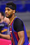 Liga ENDESA 2020/2021. Jornada: 32.<br /> FC Barcelona vs Baxi Manresa: 97-89.<br /> Brandon Davies.