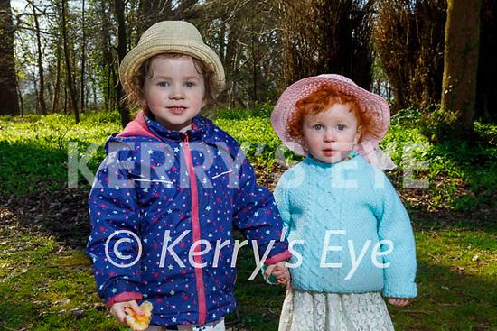 Enjoying a stroll in the Killarney National park on Saturday, l to r: Fiadh and Nessa Byrne.