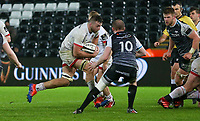 Saturday 15th February 2020 | Ospreys vs Ulster Rugby<br /> <br /> Alan O'Connor in action during the PRO14 Round 11 clash between the Ospreys and Ulster Rugby at the Liberty Stadium, Swansea, Wales. Photo by John Dickson/DICKSONDIGITAL