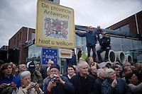The Sluitingsprijs Putte-Kapellen 2014 is actually held spot on the border between Belgium and Holland