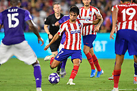 Orlando, FL - Wednesday July 31, 2019:  João Félix #7, Goal during the Major League Soccer (MLS) All-Star match between the MLS All-Stars and Atletico Madrid at Exploria Stadium.
