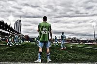 Training<br /> Latina 17-03-2015 Stadio Domenico Francioni Football Calcio Youth Champions League 2014/2015 AS Roma - Manchester City. Foto Andrea Staccioli / Insidefoto