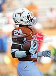 Texas Longhorns running back Joe Bergeron (24) in action during the game between the Brigham Young Cougars and the Texas Longhorns at the Darrell K Royal - Texas Memorial Stadium in Austin, Texas. Texas defeats Brigham Young 17 to 16...