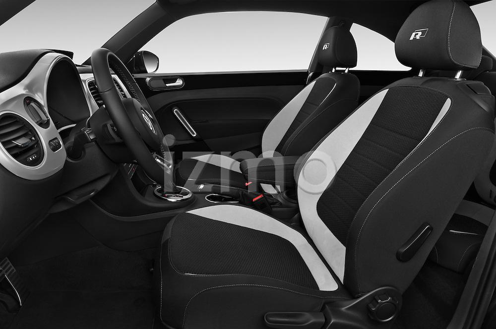 Front seat view of a 2014 Volkswagen Beetle Sport R-Line 3 Door Hatchback 2WD Front Seat car photos