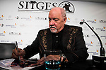 """American screenwriter and director Paul Schrader signing and talking with fans after the press conference of the film """"Dog Eat Dog"""" at Festival de Cine Fantastico de Sitges in Barcelona. October 11, Spain. 2016. (ALTERPHOTOS/BorjaB.Hojas)"""