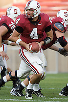 12 April 2007: Jason Forcier during the annual Spring Game at Stanford Stadium in Stanford, CA.
