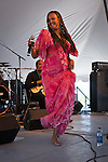 Cape Verde songstress performs at the Montana Folk Festival