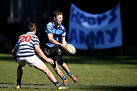 Niko Barton of Nelson College, during the 1st XV South Island Final rugby match between Otago Boys High School 1st XV and Nelson College 1st XV at Littlebourne in Dunedin, New Zealand on Saturday, 31 August 2019. Photo: Joe Allison / lintottphoto.co.nz