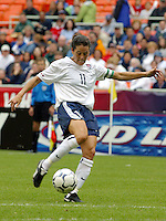 Julie Foudy , USWNT vs Canada April 26, 2003.