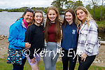 Enjoying a stroll in Ross Castle on Sunday l to r: Bernie Roche, May Quinlivin, Hallie O'Sullivan, Lucy Horgan and Roisin Maher