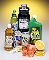 ACIDS IN COMMON HOUSEHOLD PRODUCTS<br /> An Acid Is A Water Soluble, Sour Tasting Compound<br /> A substance that dissociates a H+ ion & increases the concentration of H+ ions in aq. solutions.  It is considered a proton donor. Common properties are sour taste, prickling sensation produced on skin & ability to dissolve metals & carbonate minerals