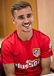 Antoine Griezmann during the interview.  May 19, 2016. (ALTERPHOTOS/Rodrigo Jimenez)