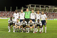Starting eleven, 2010 FIFA World Cup qualifying U.S. Men vs. Trinidad & Tobago.Hasely Crawford Stadium.Port of Spain, Trinidad.October 14, 2008.Trinidad and Tobago 2, USA 1