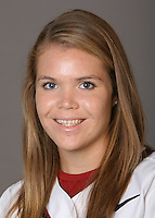 STANFORD, CA - NOVEMBER 3:  Christina Goswiller of the Stanford Cardinal softball team poses for a headshot on November 3, 2008 in Stanford, California.