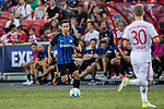 FC Internazionale Defender Yuto Nagatomo in action during the International Champions Cup match between FC Bayern and FC Internazionale at National Stadium on July 27, 2017 in Singapore. Photo by Marcio Rodrigo Machado / Power Sport Images
