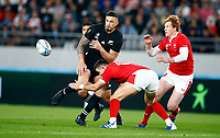 Sonny Bill Williams of New Zealand (All Blacks) during the 2019 Rugby World Cup bronze final match between New Zealand All Blacks and Wales at the Tokyo Stadium at the Tokyo Stadium in Tokyo, Japan on Friday, 1 November 2019. Photo: Steve Haag / stevehaagsports.com
