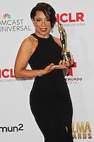 PASADENA, CA, USA - OCTOBER 10: Selenis Leyva poses in the press room at the 2014 NCLR ALMA Awards held at the Pasadena Civic Auditorium on October 10, 2014 in Pasadena, California, United States. (Photo by Celebrity Monitor)