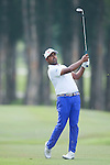 Anirban Lahiri from India hits the ball during Hong Kong Open golf tournament at the Fanling golf course on 22 October 2015 in Hong Kong, China. Photo by Xaume Olleros / Power Sport Images