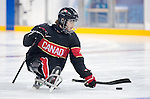 Tyler McGregor, Sochi 2014 - Para Ice Hockey // Para-hockey sur glace.<br /> Team Canada takes on Norway in Para Ice Hockey // Équipe Canada affronte Norvège en para-hockey sur glace. 09/03/2014.
